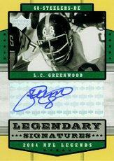 2004 Upper Deck Legends Legendary Signatures #LSLC L.C. Greenwood SP
