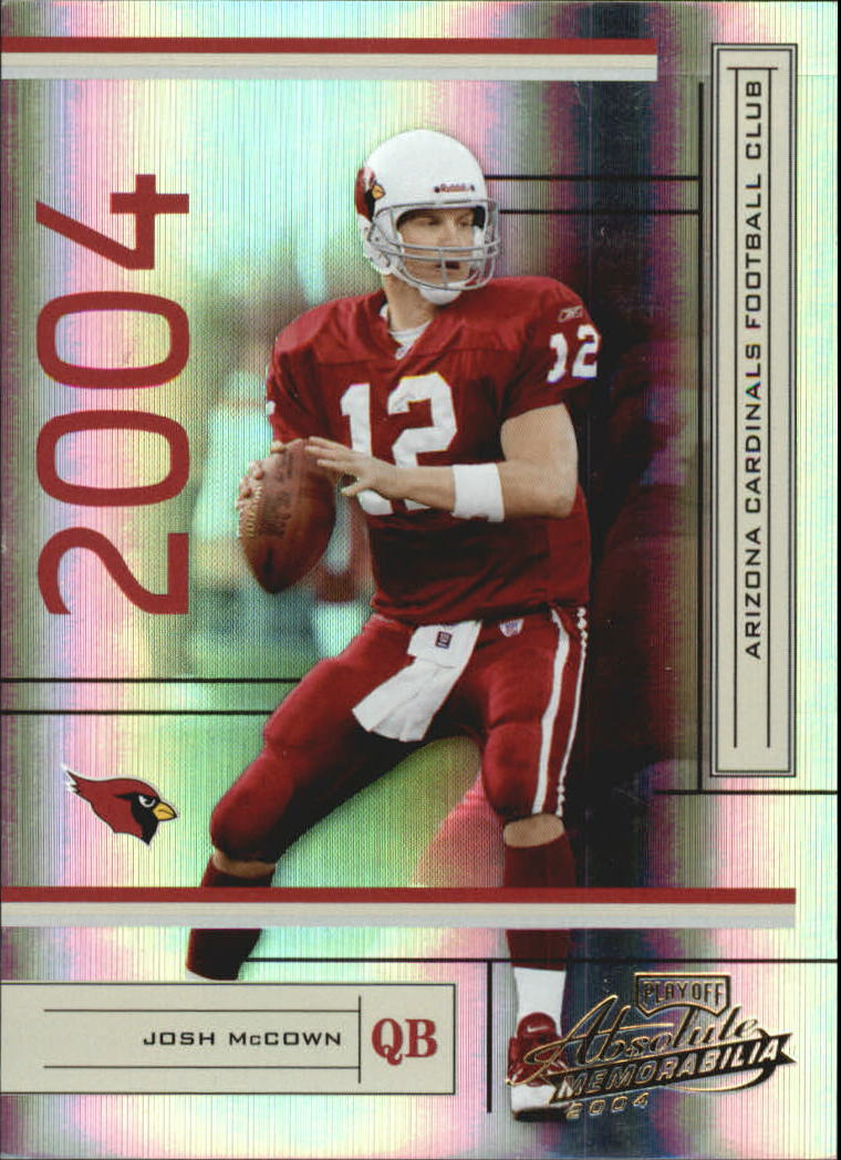 2004 Absolute Memorabilia #3 Josh McCown