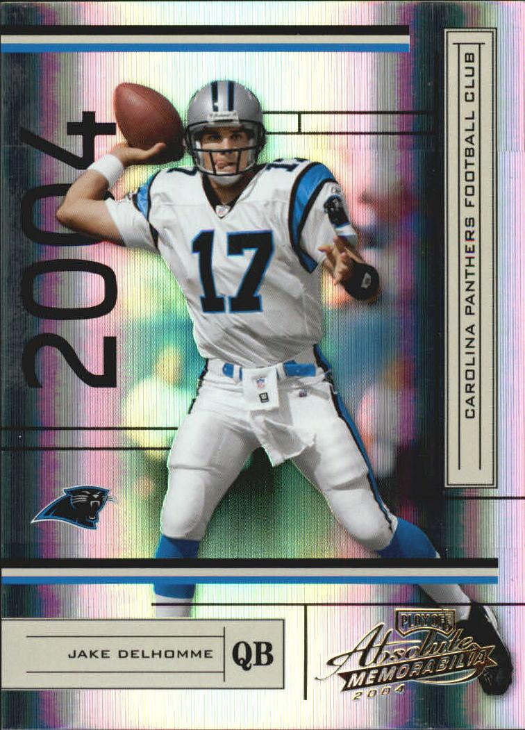 2004 Absolute Memorabilia #18 Jake Delhomme