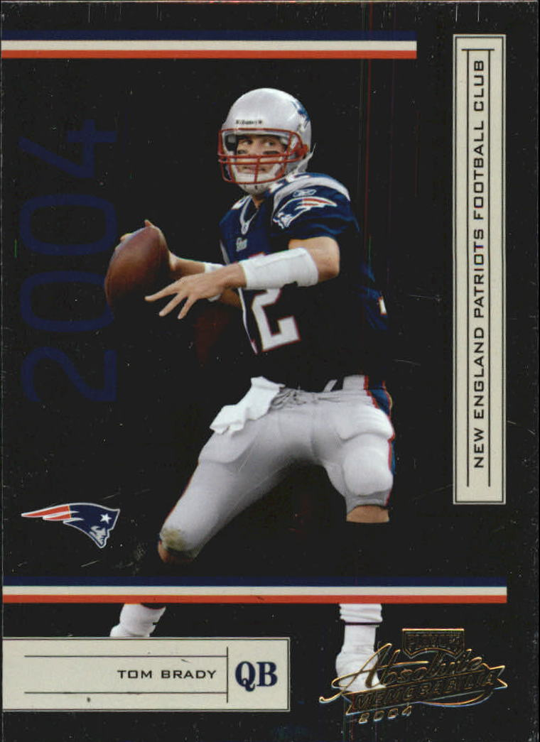 2004 Absolute Memorabilia #83 Tom Brady