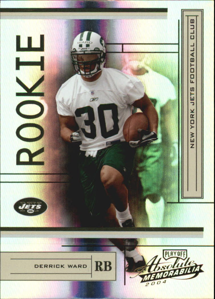 2004 Absolute Memorabilia #169 Derrick Ward RC