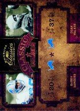 2004 Donruss Classics Classic #C34 Doak Walker/Barry Sanders
