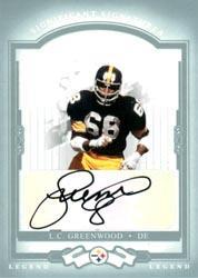 2004 Donruss Classics Significant Signatures Platinum #125 L.C. Greenwood