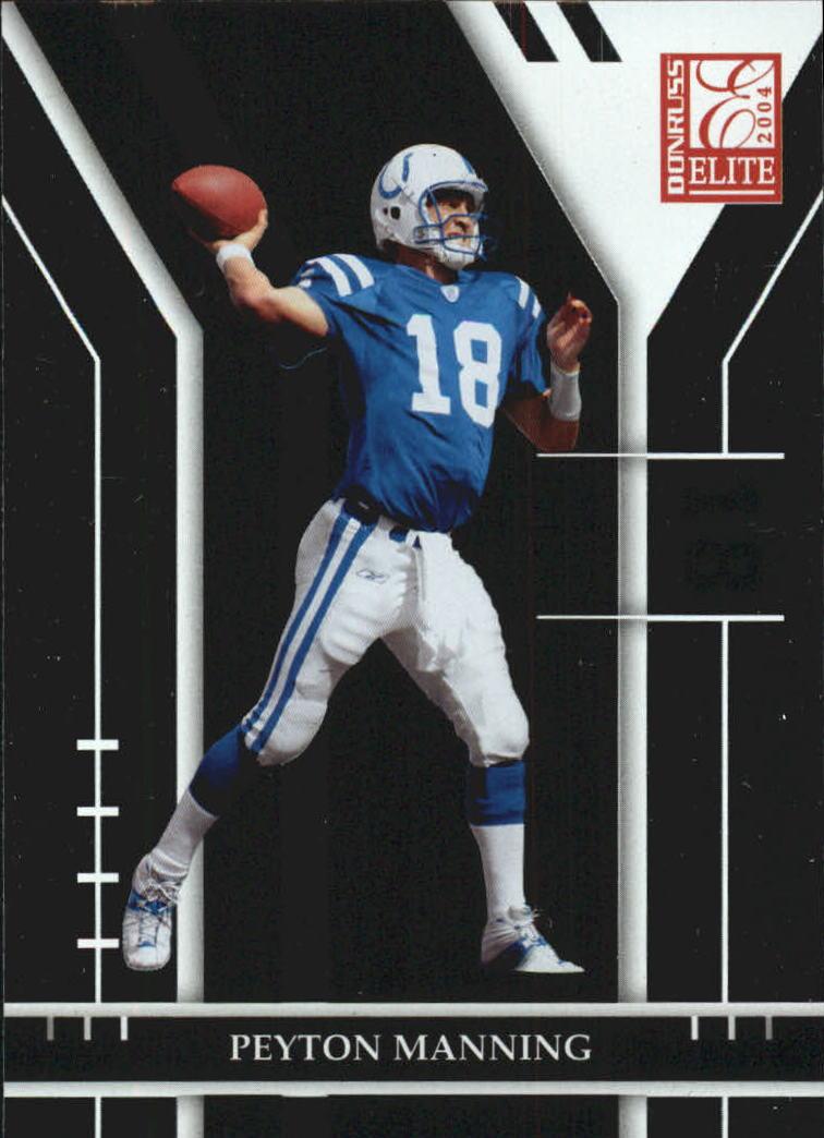 2004 Donruss Elite #42 Peyton Manning