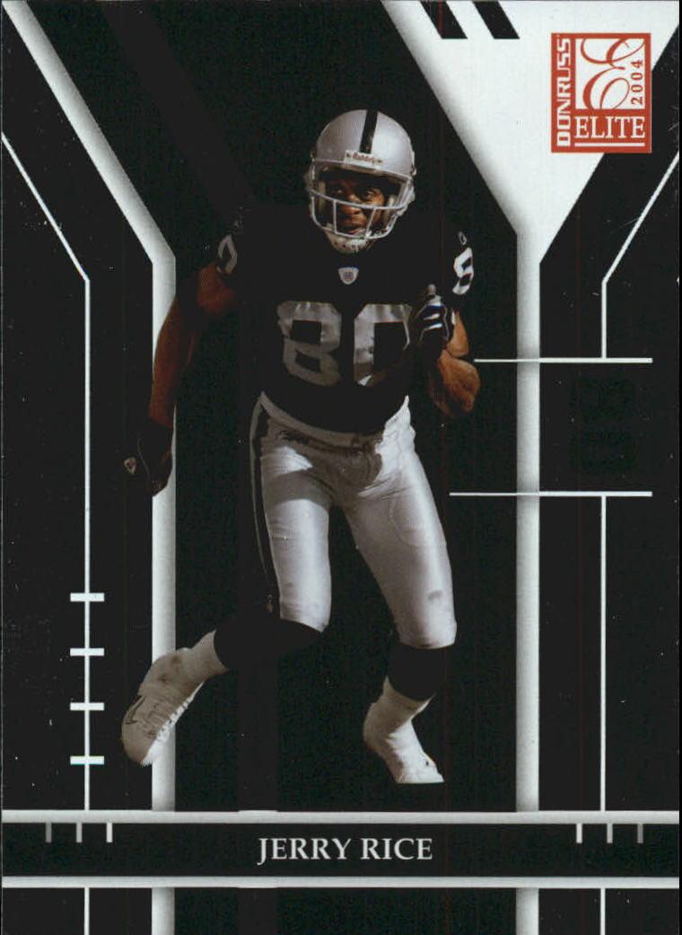 2004 Donruss Elite #71 Jerry Rice