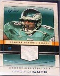 2004 Flair Gridiron Cuts Blue #GCDM2 Donovan McNabb