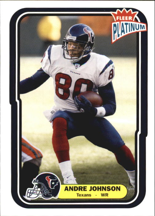 2004 Fleer Platinum #72 Andre Johnson