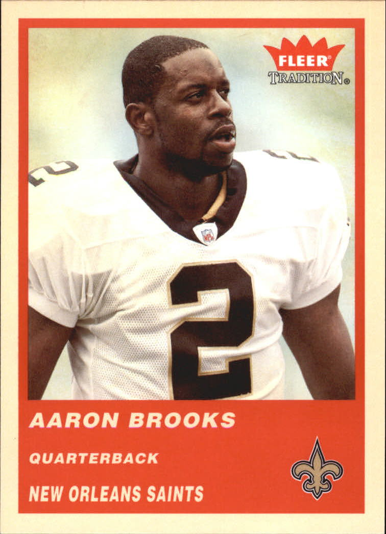 2004 Fleer Tradition #52 Aaron Brooks