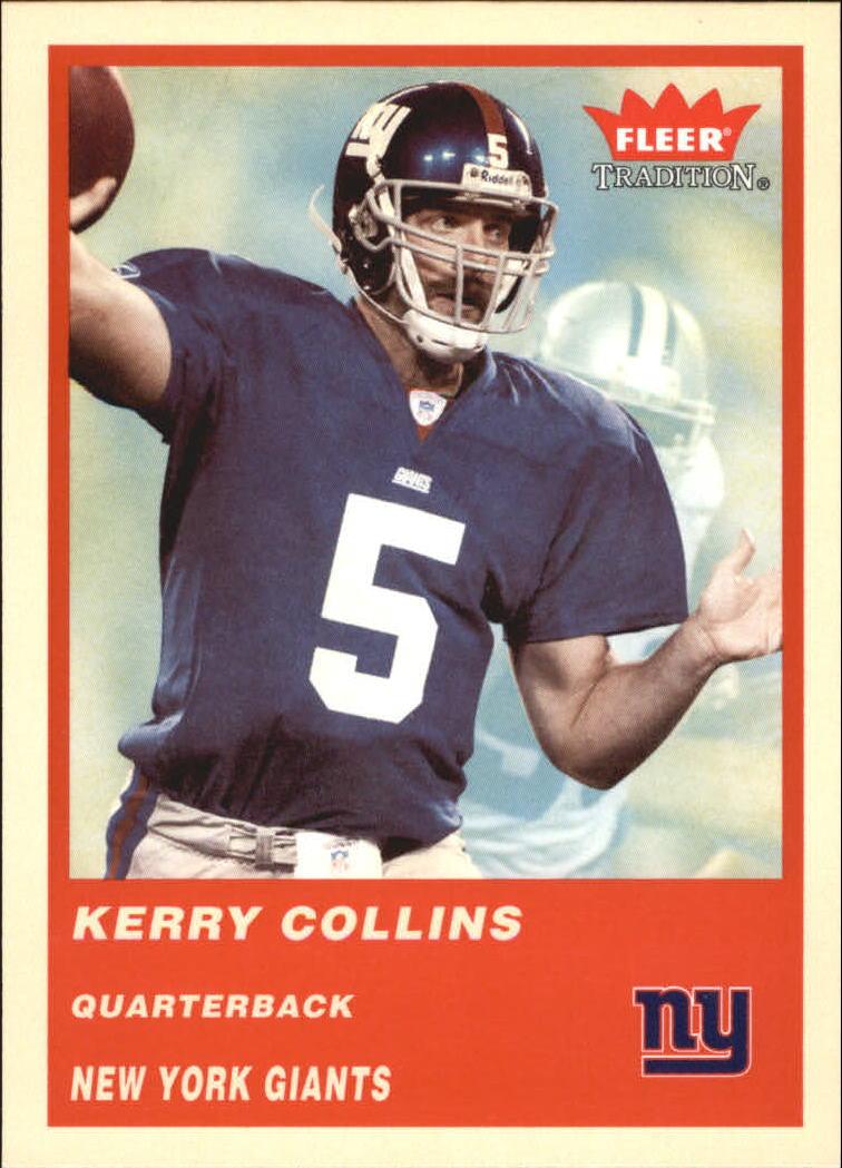 2004 Fleer Tradition #53 Kerry Collins