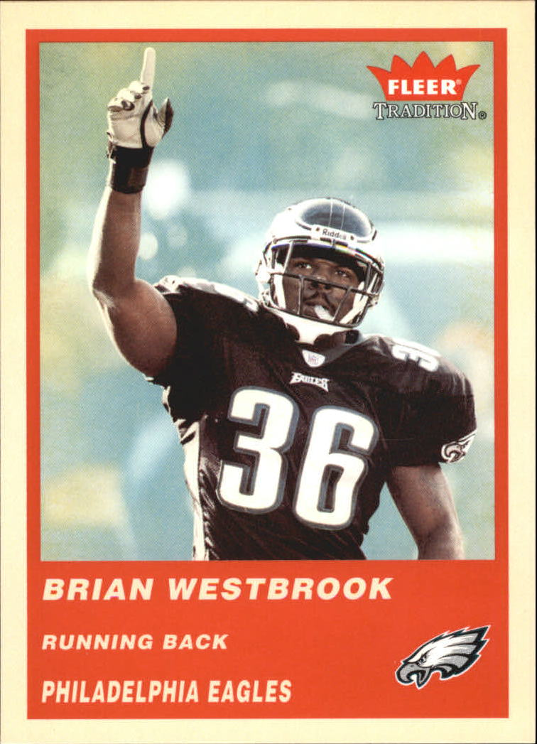 2004 Fleer Tradition #73 Brian Westbrook