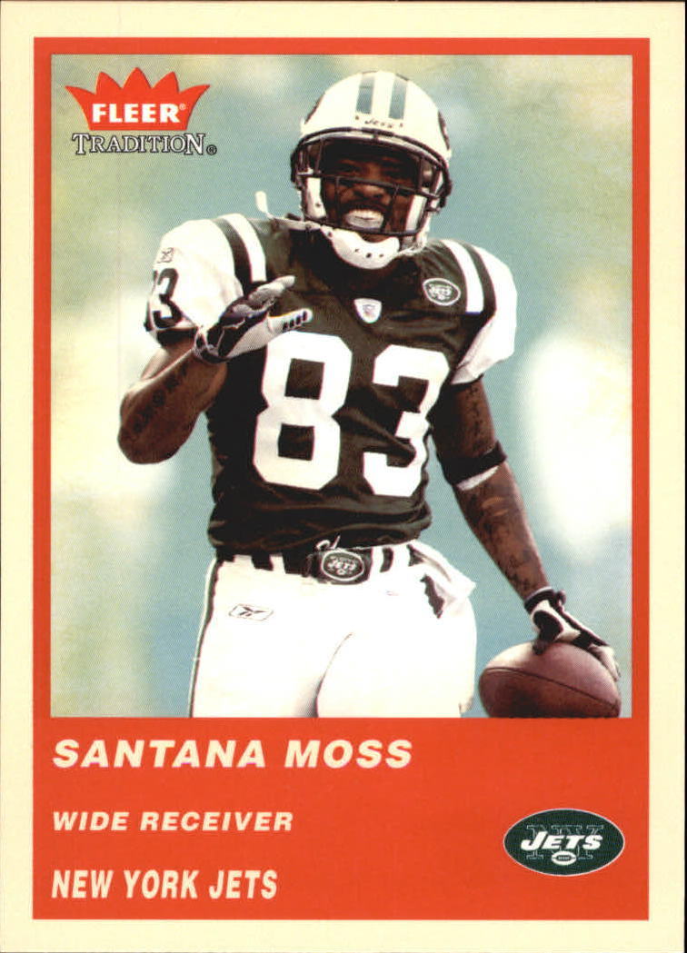 2004 Fleer Tradition #75 Santana Moss