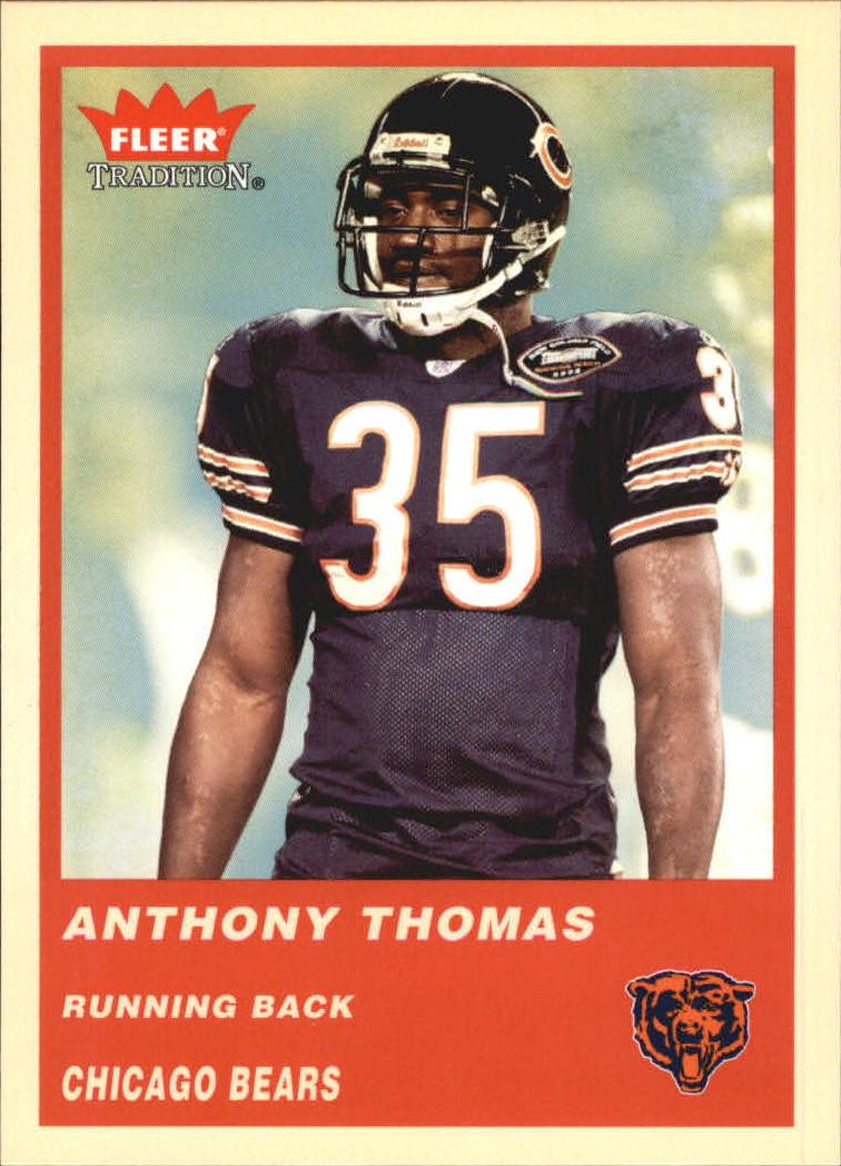 2004 Fleer Tradition #320 Anthony Thomas