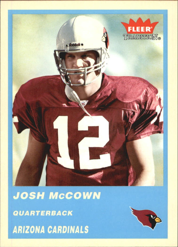 2004 Fleer Tradition Blue #218 Josh McCown