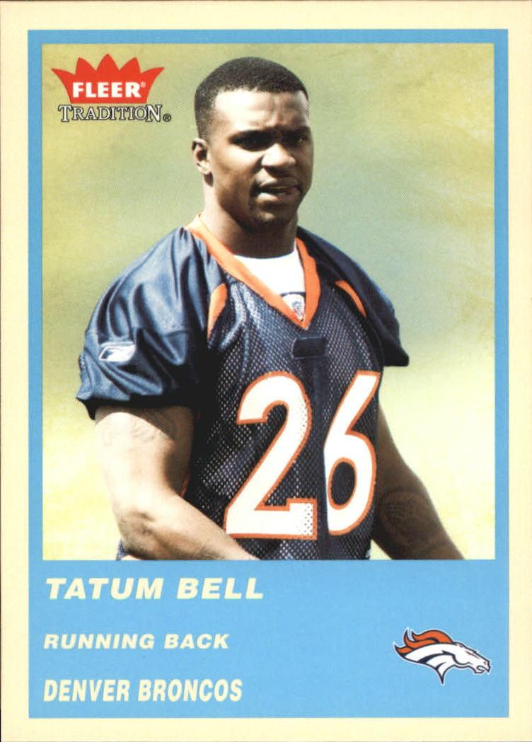 2004 Fleer Tradition Blue #334 Tatum Bell