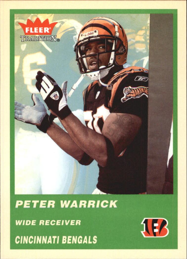 2004 Fleer Tradition Green #149 Peter Warrick