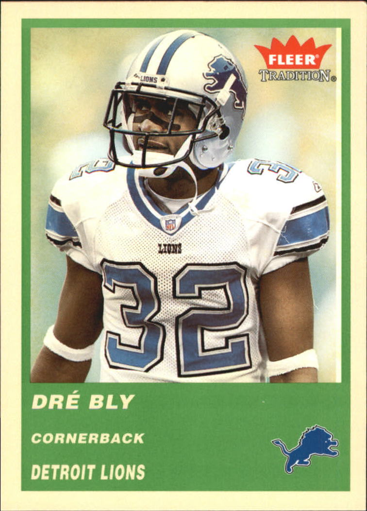 2004 Fleer Tradition Green #242 Dre Bly
