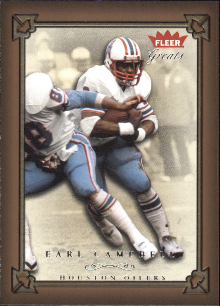 2004 Greats of the Game #21 Earl Campbell