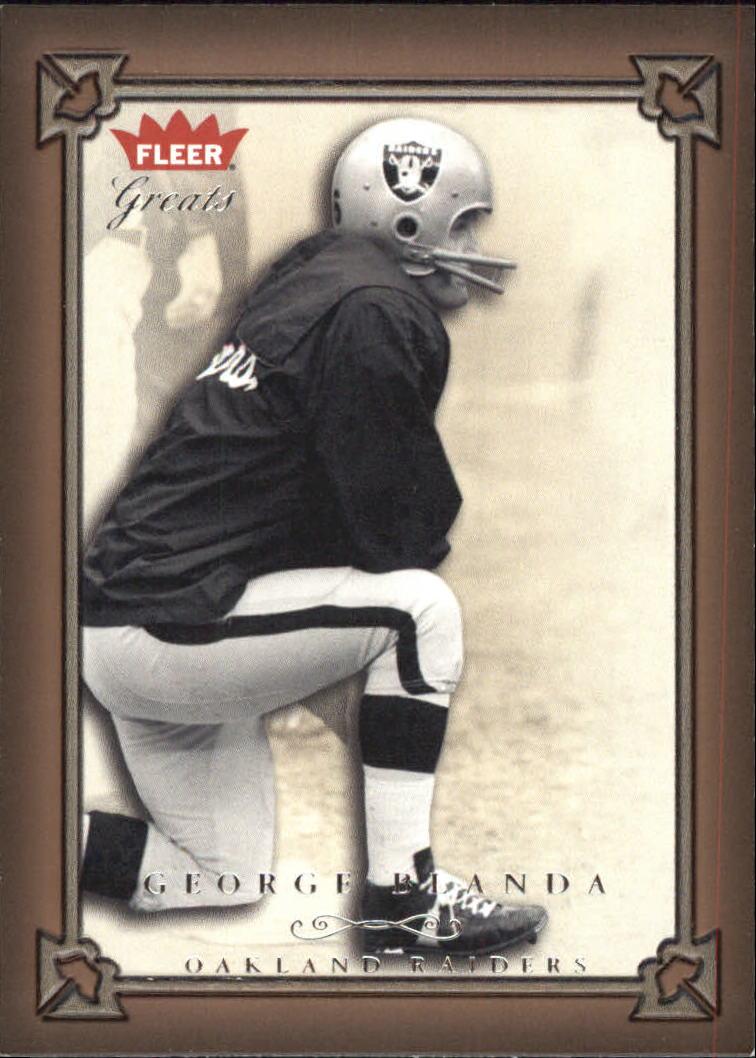 2004 Greats of the Game #48 George Blanda
