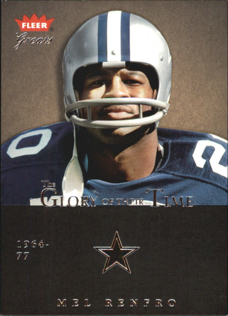 2004 Greats of the Game Glory of Their Time #GOT26 Mel Renfro/1969