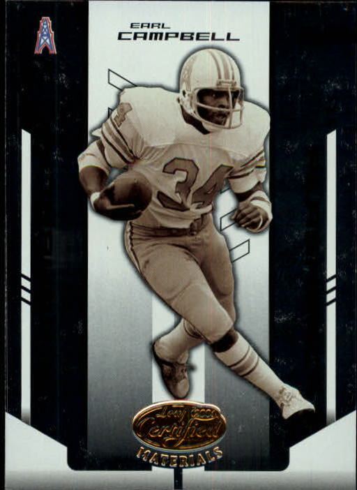 2004 Leaf Certified Materials #136 Earl Campbell FLB