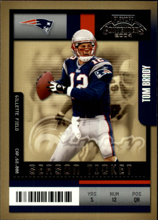 2004 Playoff Contenders #60 Tom Brady