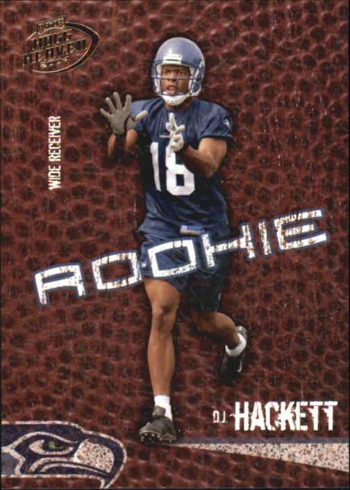 2004 Playoff Hogg Heaven #114 D.J. Hackett RC
