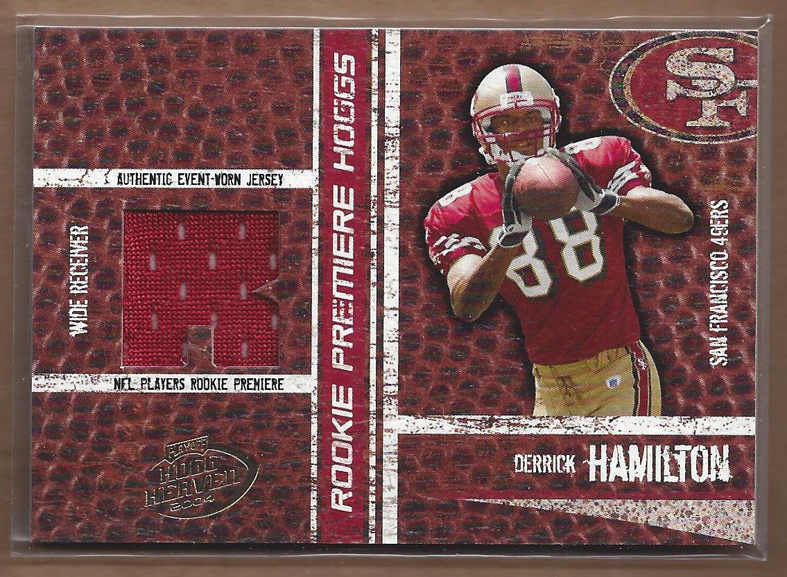 2004 Playoff Hogg Heaven #176 Derrick Hamilton RPH RC