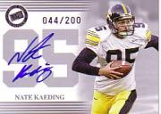2004 Press Pass Autographs Silver #22 Nate Kaeding