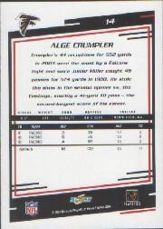 2004 Score #14 Alge Crumpler back image