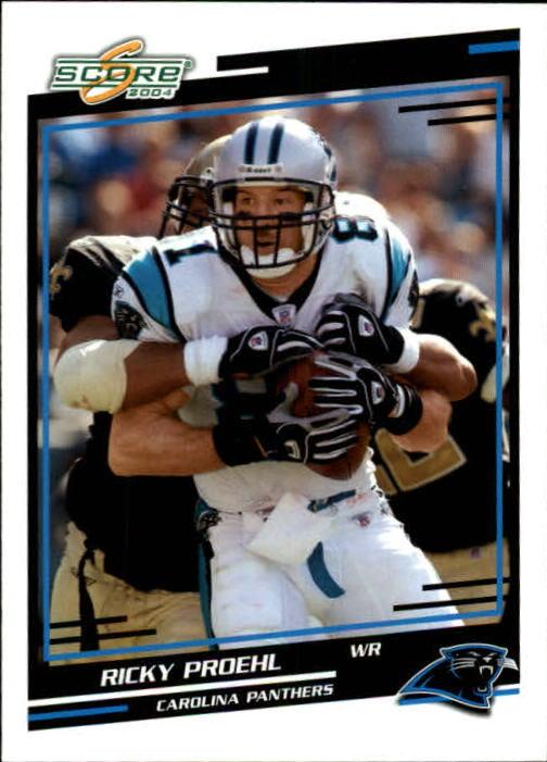 2004 Score #45 Ricky Proehl