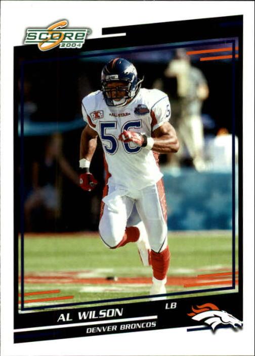 2004 Score #95 Al Wilson