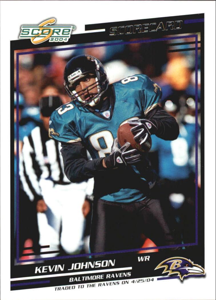 2004 Score Scorecard #146 Kevin Johnson