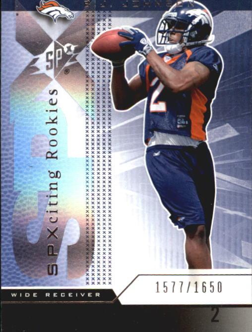 2004 SPx #101 B.J. Johnson RC