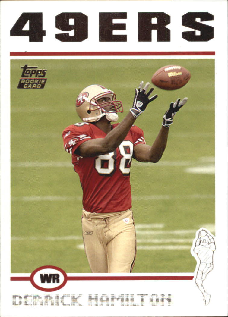 2004 Topps #340 Derrick Hamilton RC