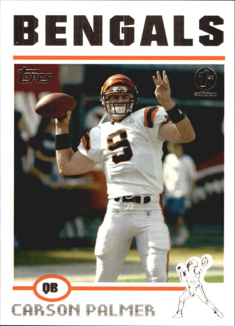 2004 Topps First Edition #157 Carson Palmer