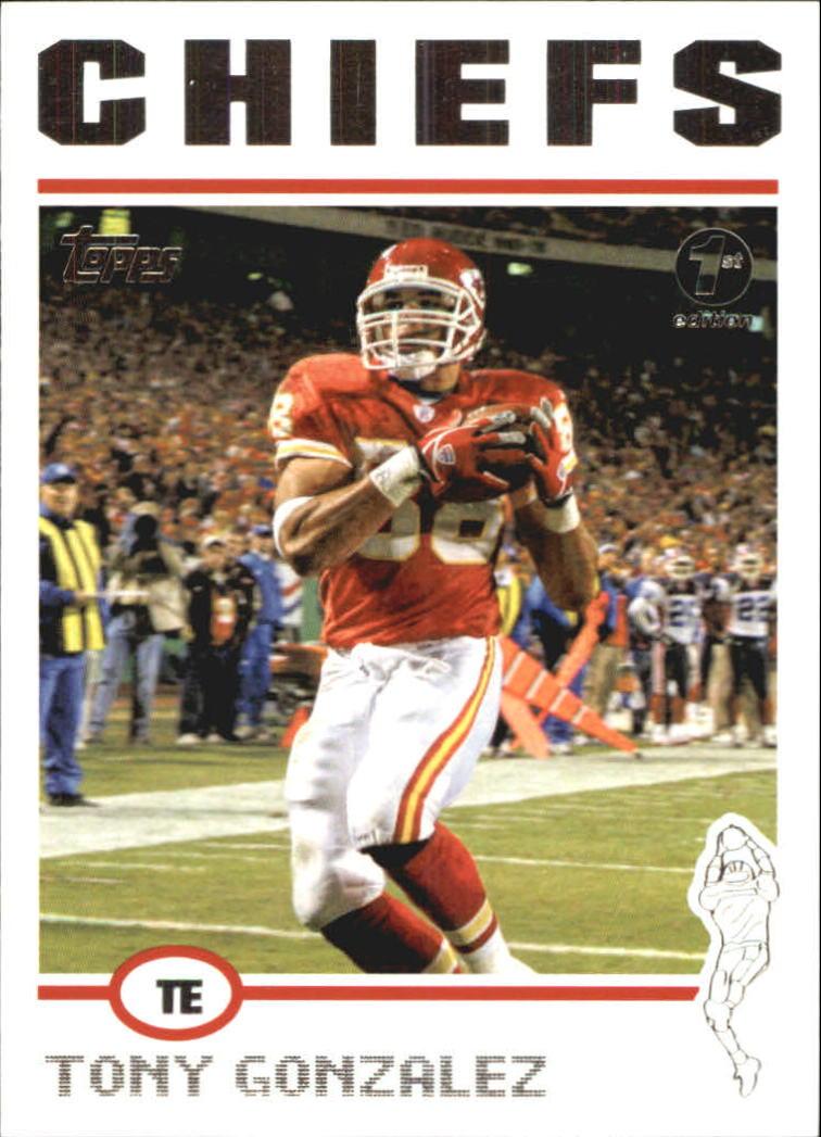 2004 Topps First Edition #176 Tony Gonzalez