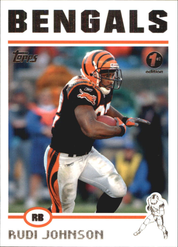 2004 Topps First Edition #190 Rudi Johnson