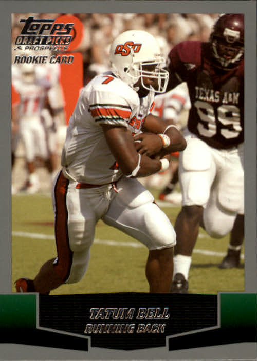 2004 Topps Draft Picks and Prospects #115 Tatum Bell RC