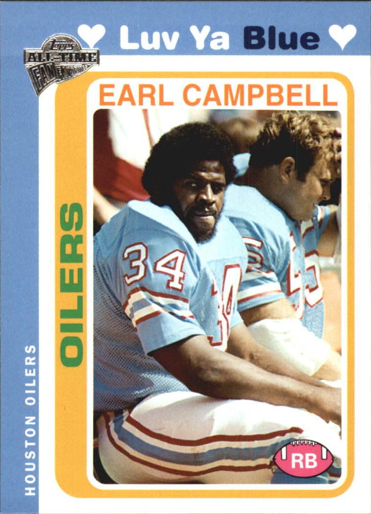 2004 Topps Fan Favorites #25 Earl Campbell