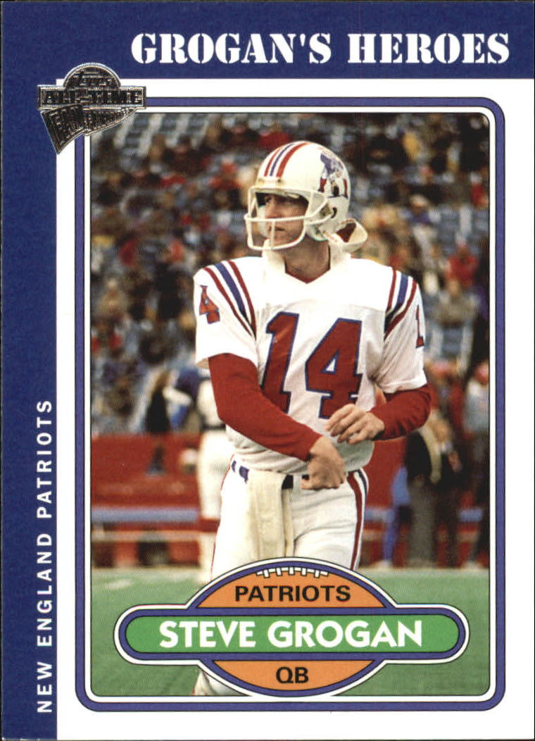 2004 Topps Fan Favorites #80 Steve Grogan