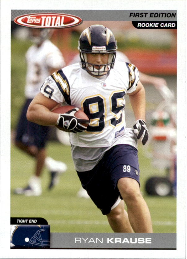 2004 Topps Total First Edition #418 Ryan Krause