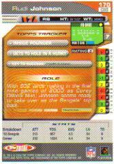 2004 Topps Total Silver #170 Rudi Johnson back image