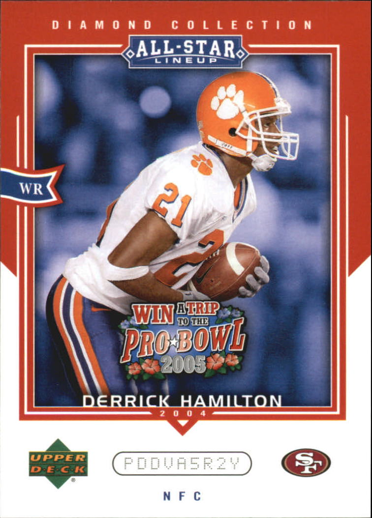 2004 UD Diamond All-Star Promo #AS68 Derrick Hamilton