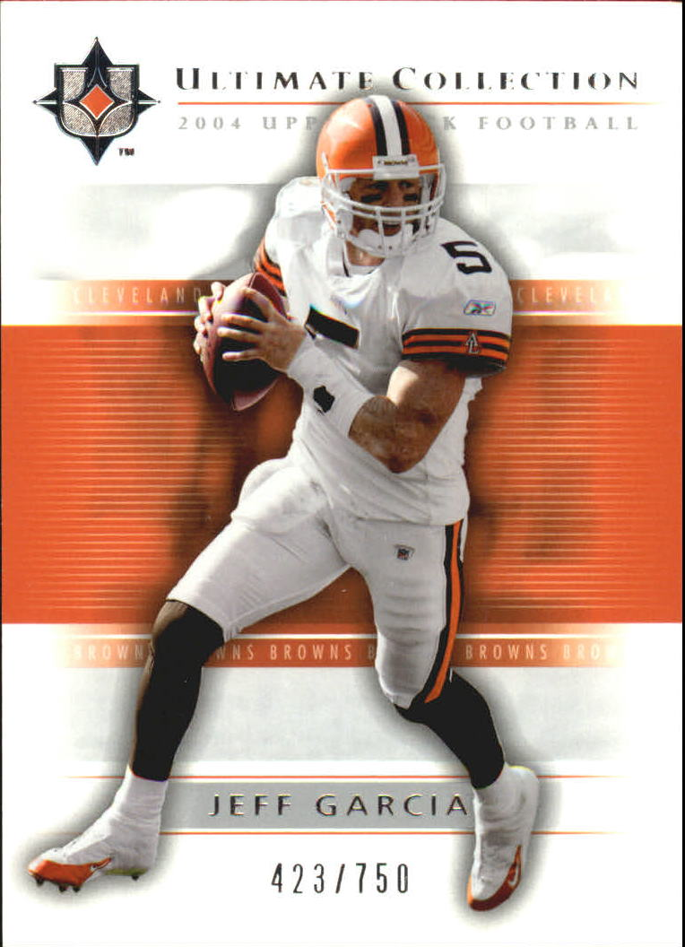 2004 Ultimate Collection #15 Jeff Garcia