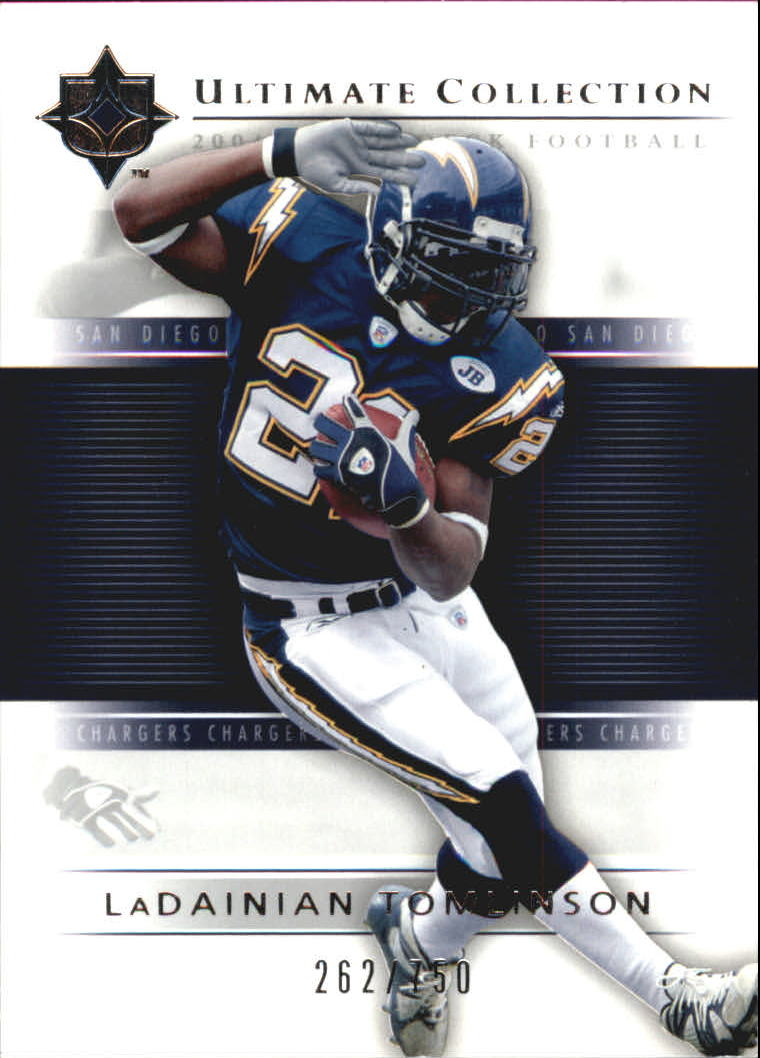 2004 Ultimate Collection #54 LaDainian Tomlinson