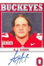 2004-09 Ohio State TK Legacy Buckeyes Autographs #B100 A.J. Hawk/100