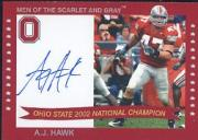 2004-09 Ohio State TK Legacy National Champions Autographs #2002M A.J. Hawk/50