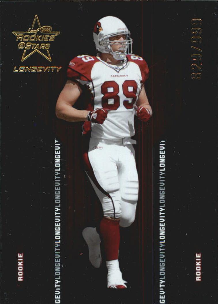 2005 Leaf Rookies and Stars Longevity Parallel #193 Adam Bergen