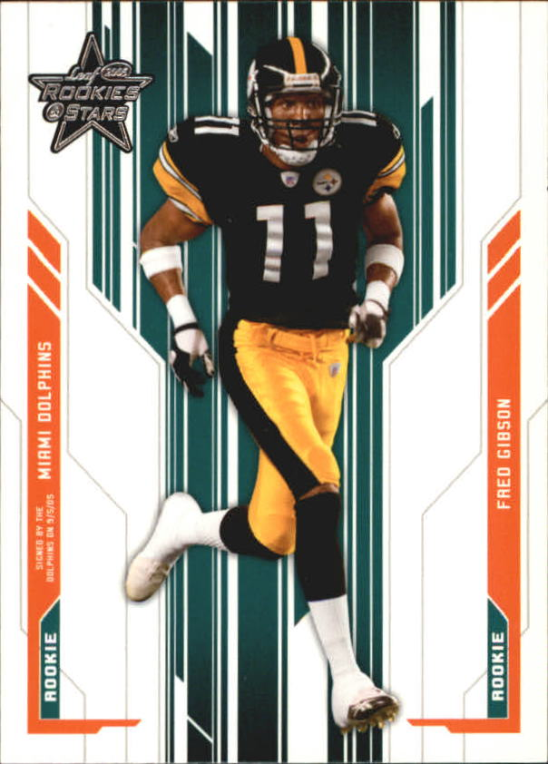 2005 Leaf Rookies and Stars #111 Fred Gibson RC
