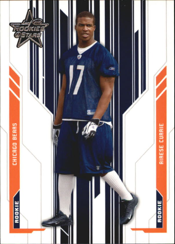 2005 Leaf Rookies and Stars #204 Airese Currie RC